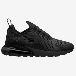 Men Nike Air Max 270 All Black Brand New